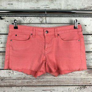 Gap 1969 Maddie Summer Cut Offs Denim Jean Shorts